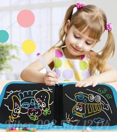 Детский набор для рисования, творчества и занятий, бесконечный альбом