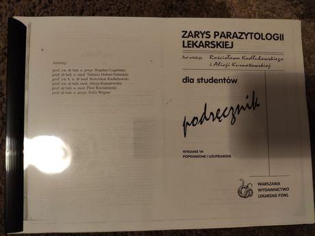 Zarys Parazytologii Lekarskiej Kadłubowski