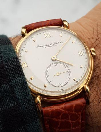 Zegarek IWC SCHAFFHAUSEN zloty, duzy etui.