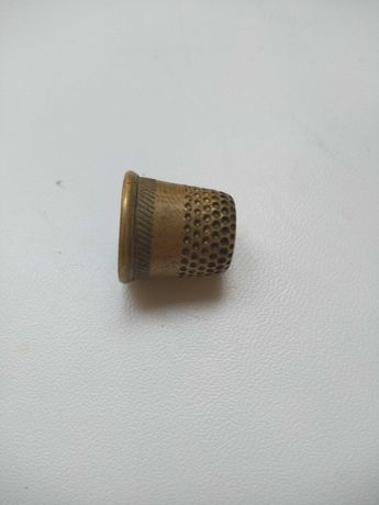 Напёрсток бронзовый времён СССР