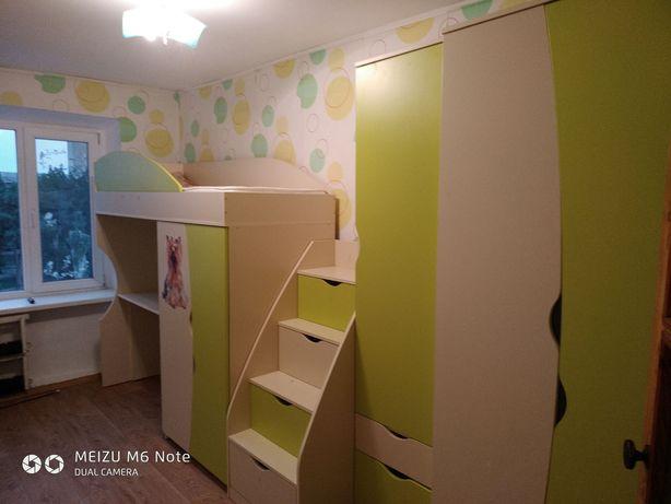 Мебель в детскую, кровать чердак