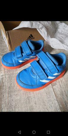 Buty adidas niebieskie