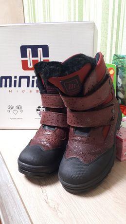 Ботинки minimen зима р.34,минимен