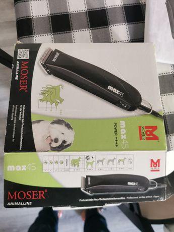 Máquina Moser max45 corte pêlo animais