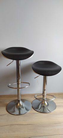 Hokery, krzesła barowe - 2szt., solidne i eleganckie