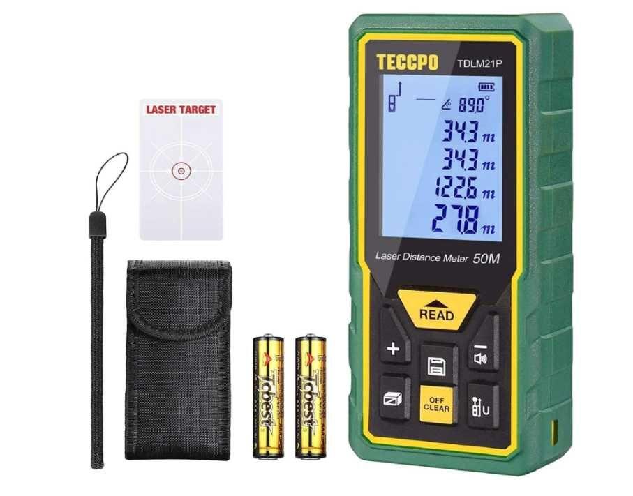 Medidor Laser / Telémetro 50M IP54 TDLM26P TECCPO