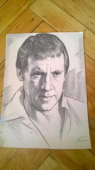 Портрет В С Высоцкого