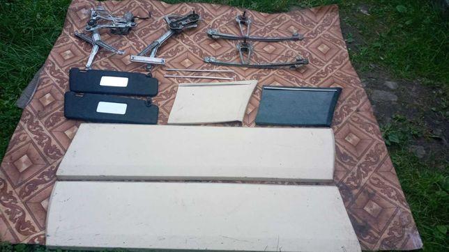 Продам Електро-мех стеклоподьемник/листва хром/козирки Мерседес W124