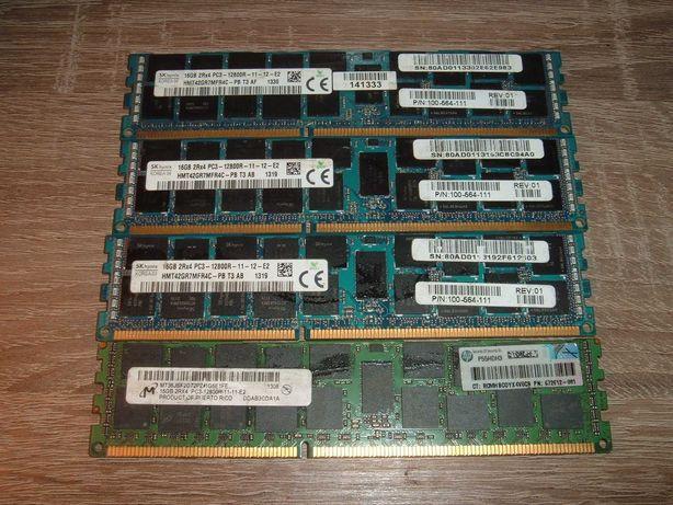 Память серверная DDR3 64Gb (4х16Gb) 12800R 1600MHz ECC REG