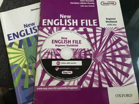 New English File Beginner Workbook with key +Students Book