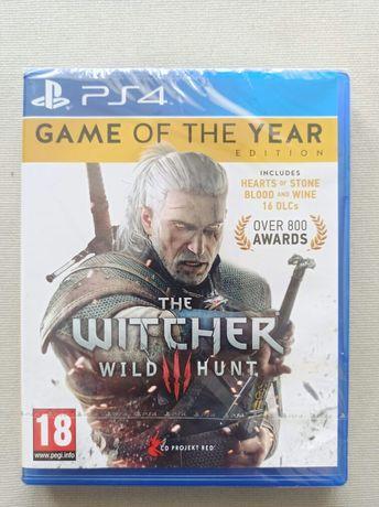 Gra na PS4 Wiedźmin 3