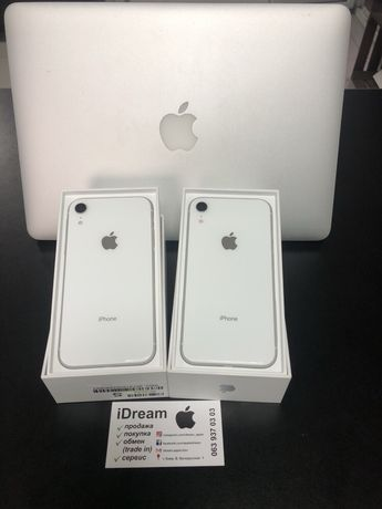 Apple iPhone Xr 64 gb White КАК НОВЫЕ ! ГАРАНТИЯ Apple и МАГАЗИНА!