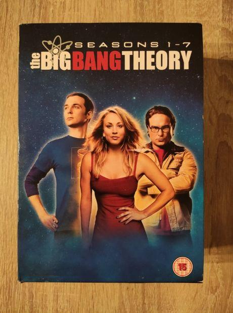 THE BIG BANG THEORY sezon 1-7 ENG 22 DVD teoria wielkiego podrywu