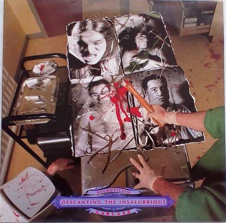 Carcass - Necroticism - Descanting The Insalubrious, Vinyl.