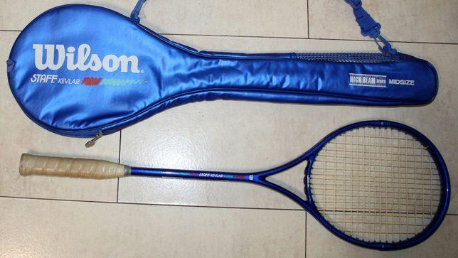 Wilson Staff Kevlar Midsize wyczynowa rakieta/Badminton + pokrowiec