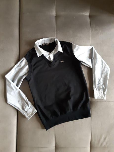 Рубашка-обманка 10-11 лет