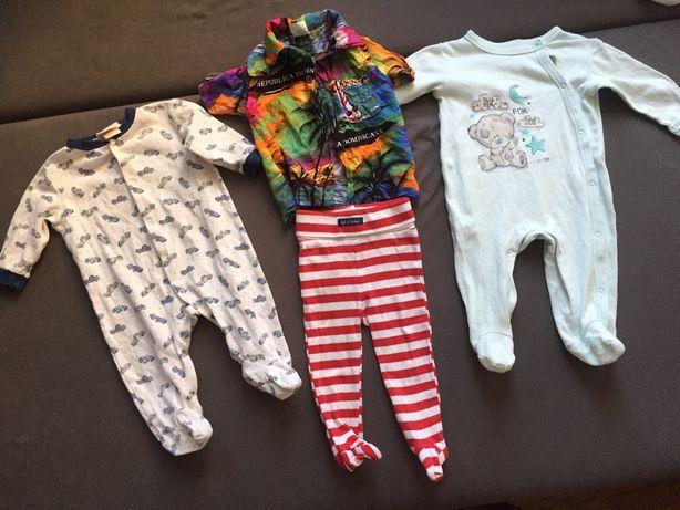 Ubranka dla niemowlaka pajace koszula spodenki 68