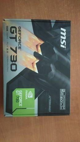 Продам видеокарту MSI GT 730 DDR3 2GB 128bit