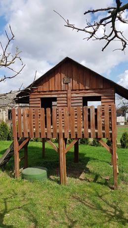 domek drewniany dla dzieci ogrodowy