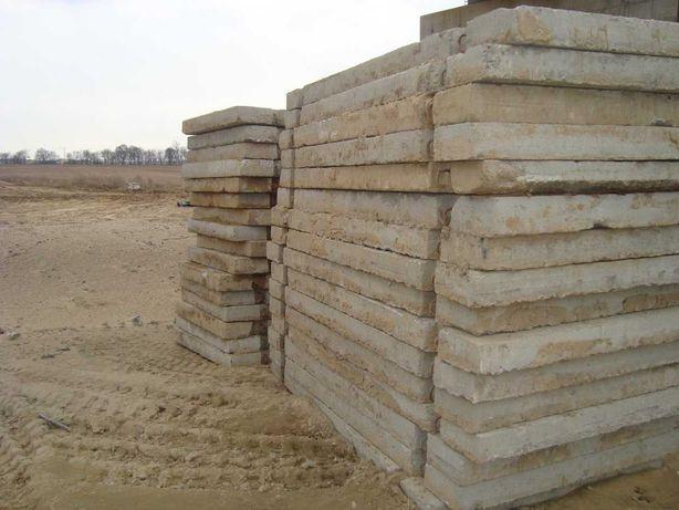 Sprzedam płyty drogowe ,betonowe używane 1,5/3 w bardzo dobrym stanie