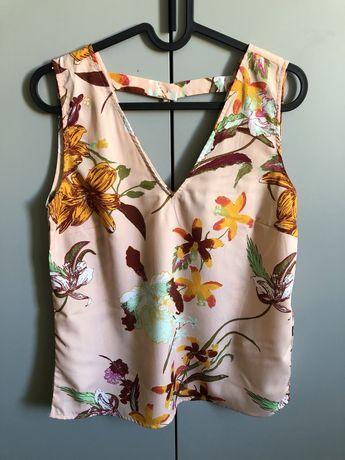 Letnia bluzka na ramiączkach w kwiaty Vero Moda 36 S