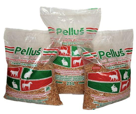 Żwirek dla kota Pelluś - WYSOKA JAKOŚĆ tylko 1,79zł/kg NAJTANIEJ