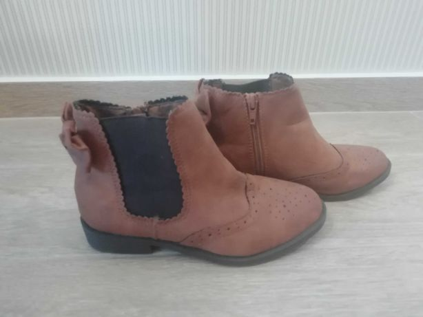 Ботинки на девочку 33 р