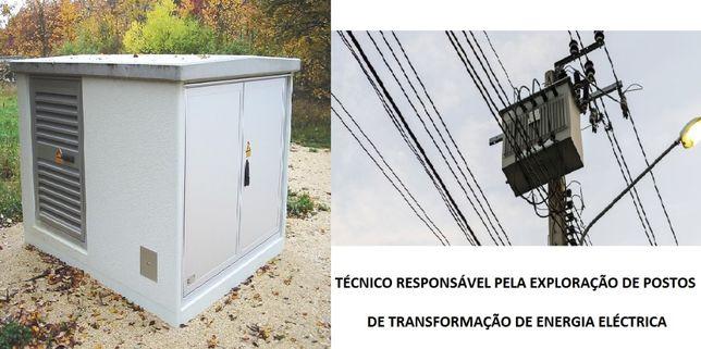 Técnico Posto de Transformação Energia
