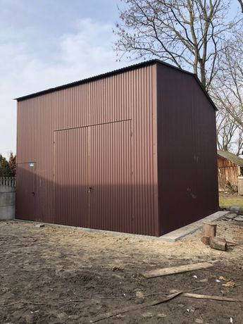 garaż HALA stalowa MAGAZYN gospodarczy hale - wiaty -magazyny ze stali