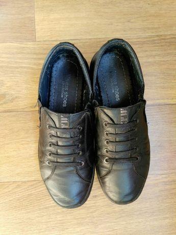 Туфли на мальчика 39 размер, кожа