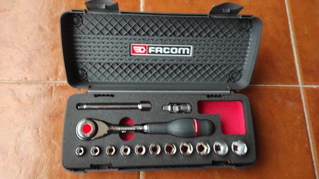 Conjunto Roquete Facom 3/8 Novo J.6PB 14 pc