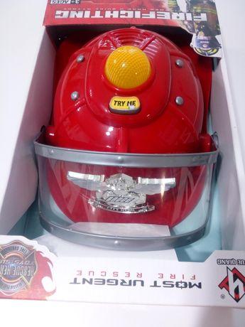 Kask Strażacki Światło Dźwięk
