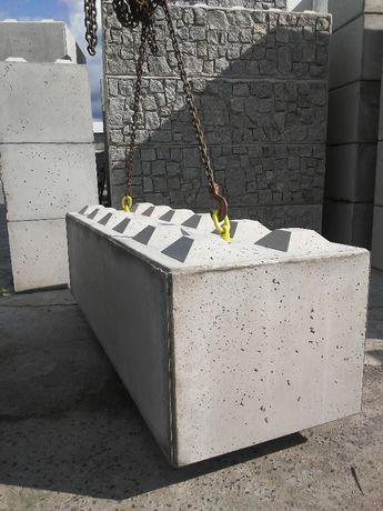 Bloki betonowe klocki betonowe mur oporowy ściana oporowa zasieki