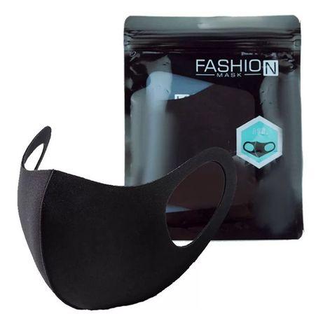 Защитная маска Pitta Fashion черная для женщин и мужчин Все размеры