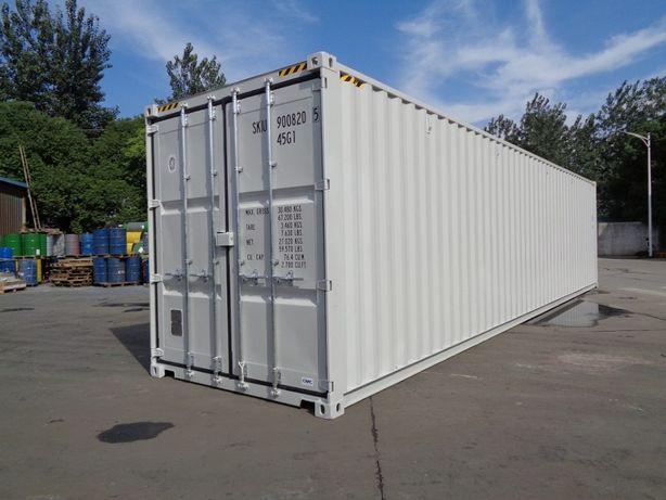 Wynajem powierzchni magazynowej - Bytom - kontener morski 12 m