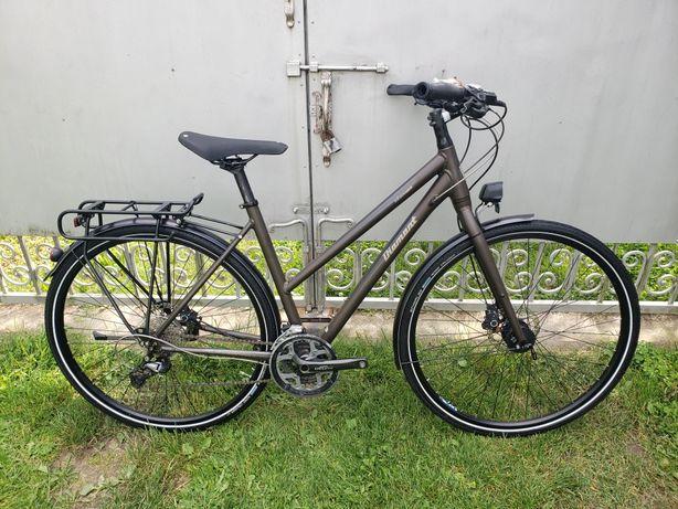 Велосипед дамський diamant elan esprit дамка shimano