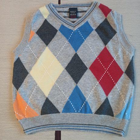 Kamizelka pulower chłopięcy NEXT rozm. 92