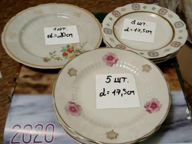 Разные тарелки, салатники СССР