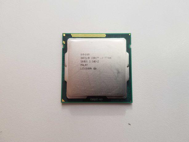Procesor Intel Core i7-2700K 3.5GHz + chłodzenie