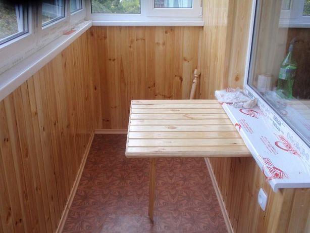 Балконы под ключ! Обшивка пластиком. Вагонка. Увеличение балконов!