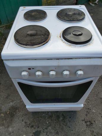Продам электропечь электроплита с электрической духовкой Candy б/у