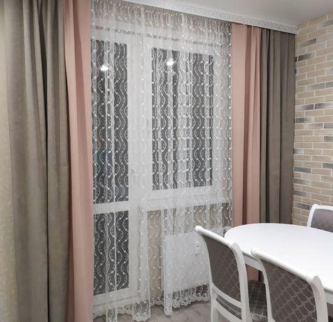 Пошив штор разные цвета размеры ткань для штор блэкаут велюр лён
