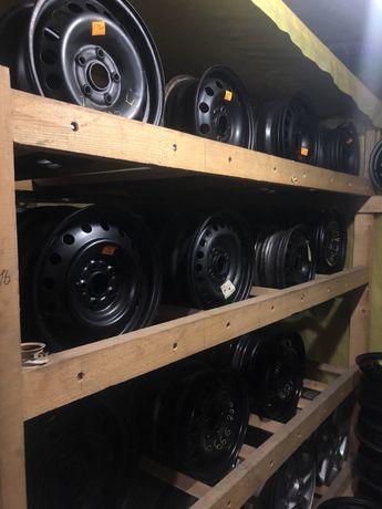 777Склад стальных дисков 5/112 5/114.3 4/108 4/100 R-14 R-15 R-16 R-17