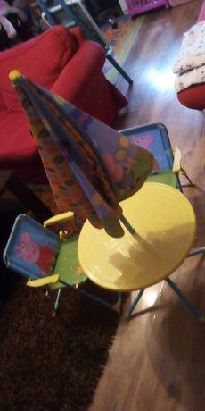 Zestaw stolik plus krzesełka Świnka Peppa