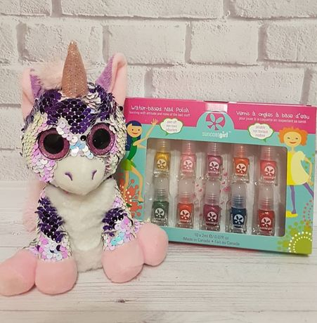 SuncoatGirl, Набор лаков для ногтей, для деток, на водной основе