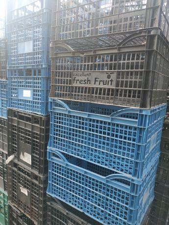 Ящик для хранения овощей, фруктов пластик,дерево б/у