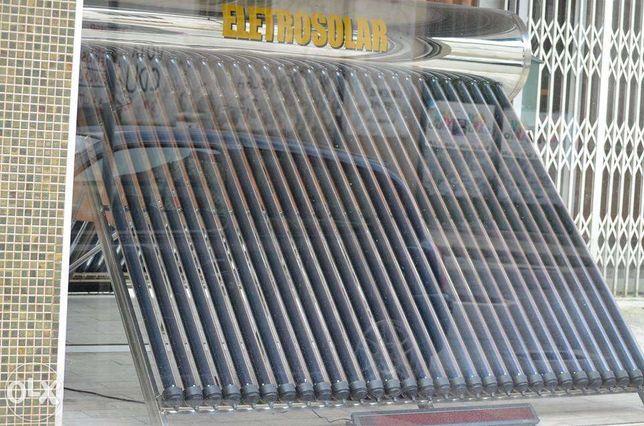 Painel solar 300 litros com pressão novo tubos de vacuo 30 tubos