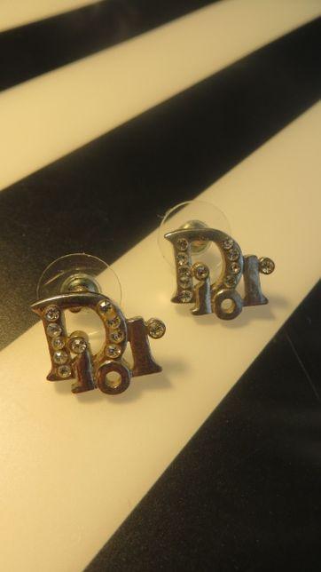 Kolczyki z cyrkoniami Dior