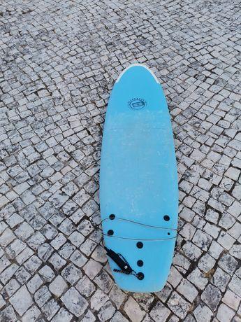 Prancha de surf softboard 7'0 ocean & earth soft mini Malibu long fun