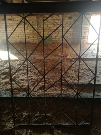 Krata okienna - drut zbrojeniowy
